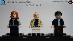 Lois Lane, Lex Luthor & Clark Kent (Random_Panda) Tags: lego fig figs figures figure minifig minifigs minifigure minifigures characters character dc comics superhero superheroes hero heroes super comic book books lois lane lex luthor superman clark kent smallville metropolis daily planet
