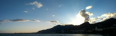 Monti Lattari al tramonto (fabio92smr) Tags: monti lattari costiera amalfitana lungomare salerno tramonto mare porto