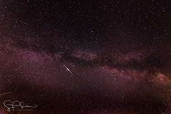 Milky Way with Iridium Flare. (sschaum) Tags: astro astrophotography d7200 extendedexposure extended exposure nikon nikonphotography litchfieldcounty milkyway northeast newengland outdoors connecticut roxbury sschaum smalltown schaumphotography sky tokina wideanglelens