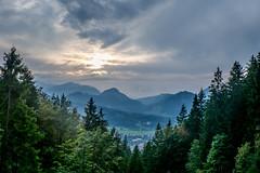 Evening mood (Iulia Dan) Tags: hiking mountains outdoor viaferrata nature obersdorf germany alps landschaft berg himmel