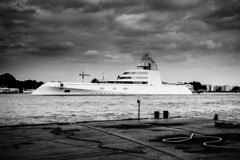 "Yacht ""A"" in Amsterdam (Cre@tivity) Tags: boats ship russian dutch yacht super amsterdam holland luxurious million dollar"