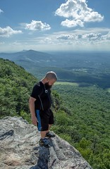 Top of the world (quotography513) Tags: nikon outdoors photography hangingrock hiking mooresknob nature cliff northcarolina mountain