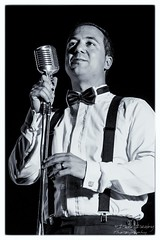 Swing Singer with braces (Dave Denby) Tags: simply swing band group theatre