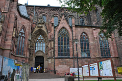 Catedral de Worms, Alemania (kaplan10) Tags: catedraldeworms alemania religin arquitectura religiosa devocin fe creyente iglesia templo arquitecturareligiosa culto oracin edificio gtico cristaleras gotischearchitektur