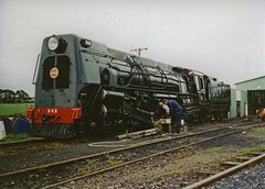 NZR 4-8-4 Ka 942 Pukeowhare (TJM2012) Tags: newzealandrailways nzr mainlinesteam 484 ka 942 streamlined pukeowhare gvr