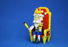 Tsar Gorokh (vir-a-cocha) Tags: lego character tsar king throne viracocha
