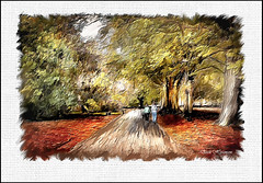 CALDESTONE PARK (Derek Hyamson (5 Million views)) Tags: calderstones park hdr impression classicpainter art painting liverpool brushstrokes