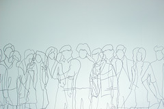 people (Jules Marco) Tags: people menschen leute zeichnung drawing wand wall canon eos600d sigma1020mmf35exdchsm weitwinkel wideanglelens