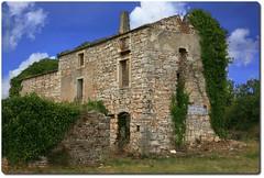 For Sale (oar_square) Tags: abandonedproperty dilapidated bale croatia istria field stonebuilding