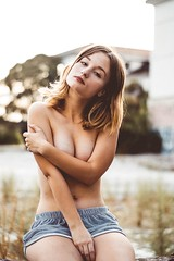 Errtica (alejandropval) Tags: pretty light abandoned freethenipples nature young outside girl nude