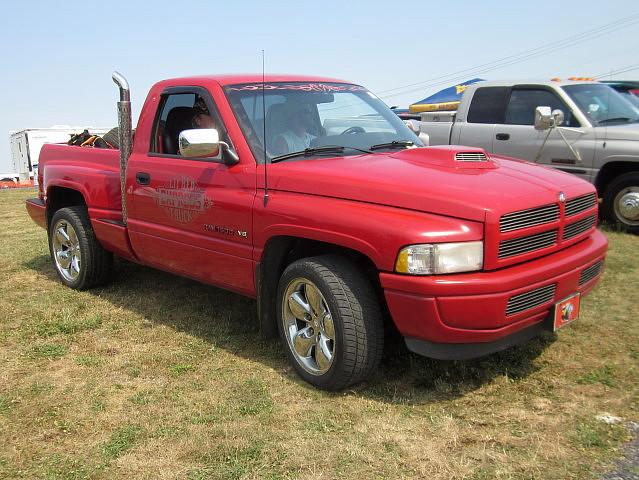 truck pickup dodge 1995 mopar ram carlisle carshow carlislepa ram1500 lilredexpress carlisleallchryslernationals