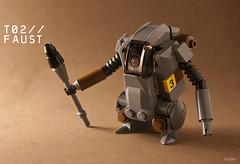 """T02 """"Faust"""" (_Tiler) Tags: lego mak moc panzerfaust hardsuit maschinenkrieger minifigscale"""