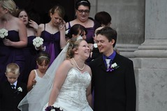 Newlyweds (bryanpage) Tags: flowers wedding tiara groom bride necklace harrison veil dress pearls suit bouquet weddingdress bridegroom harrisonhendrixpage harrisonpage evecooper bryanpage williamsonpark ashtonmemorial canadastaceythurston charlipiper michellepage ambertunn
