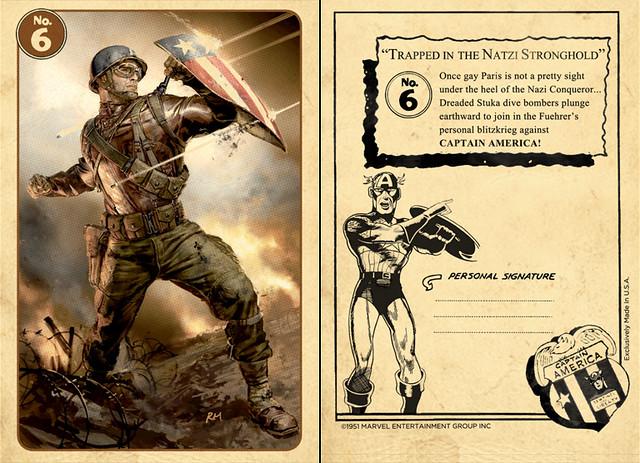 考森探員的珍藏!「美國隊長」蒐藏卡套裝組