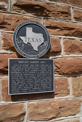 Motley County Jail (ednurseathkh) Tags: texas jail matador texashistoricalmarker texashistoriclandmark motleycounty motleycountyjail medallionplate jjjohn wepower jfaiken jtcornett judgehhcampbell abcooper