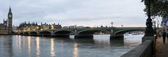 Westminster Bridge Panorama (Michael.Lee.Pics.NYC) Tags: bridge england panorama london westminster thames river parliament