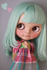 KiKi loves... (Simmi.) Tags: holiday sunshine by hair doll with blythe kiki custom msr smock tiina rbl mformonkey