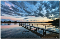 IMG_6304enthuse (Steve Daggar) Tags: sunset pier jetty wharf centralcoast hdr cloudscape enthuse woywoy