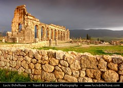 Morocco - Volubilis - Walili - Ruins of the Basilica - Ancient Roman City - UNESCO World Heritage Site ( Lucie Debelkova / www.luciedebelkova.com) Tags: world trip travel vacation holiday heritage tourism beautiful wonderful site nice fantastic ruins perfect tour place roman basilica awesome sightseeing arches visit location tourist best unesco morocco journey stunning destination sight traveling lovely visiting exploration incredible archaeological archeology touring breathtaking archeological volubilis walili luciedebelkova wwwluciedebelkovacom luciedebelkovaphotography