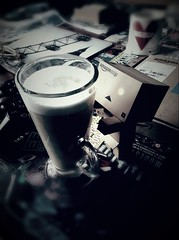 Having s brew (GManVespa) Tags: canon toy mini danbo revoltech 40d danboard