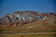Ahar colorful mountain (amin.m) Tags: mountain nikon colorful iran d60 ahar