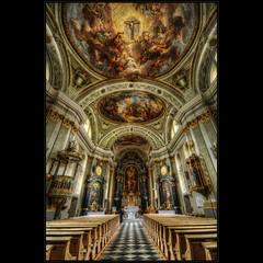 S.Giovanni (Kemoauc) Tags: italy church painting nikon interior ceiling hdr tyrol sdtirol topaz stjohann sgiovanni photomatix d300s