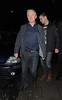 Louis Walsh leaving 'C' restaurant London, England