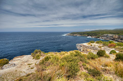 What we are today comes from our thoughts of yesterday, and our present thoughts build our life of tomorrow. (boiworx) Tags: ocean sea sky cliff cloud beach nature nikon rocks australia nsw newsouthwales jervisbay d300 boiworx