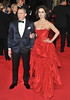 Daniel Craig and Berenice Marlohe Royal World Premiere of Skyfall held at the Royal Albert Hall - London, England