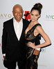 Russell Simmons and Sasha Volkova 'A Night of New York Class' Gala at The Edison Ballroom - New York City