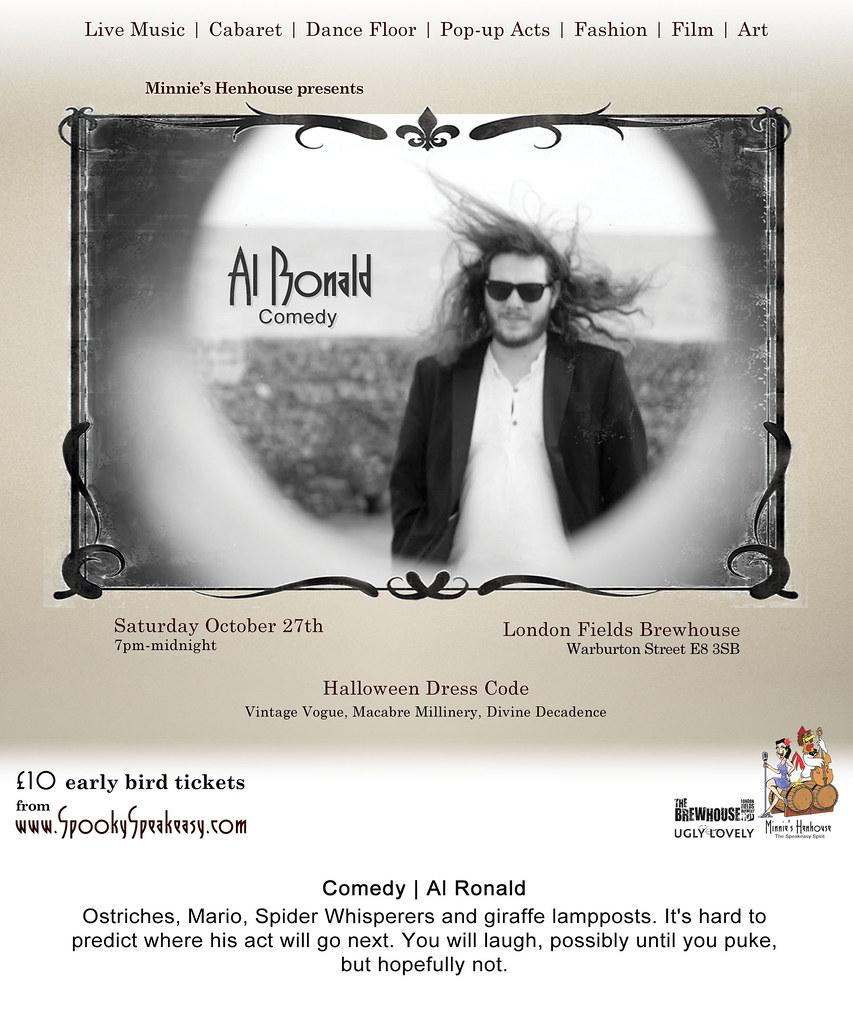 Comedy | Al Ronald