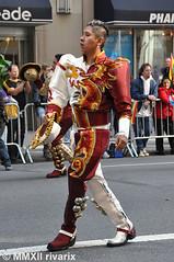 041 Hispanic Day Parade - Bolivia (rivarix) Tags: nyc carnival music festival traditionalcostume caporales traditionaldance cascabeles maledancer hispanicamerican folkloricdance boliviandance spanishheritage partycelebration fifthavenuenewyorkcity boliviaonfifth latinamericanparade centralamericaparade 2012hispanicdayparade caporalesumss