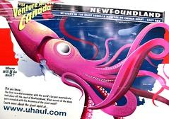 Venture Across Canada .... U-Haul Artwork .... Newfoundland
