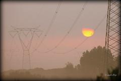 ... una timida luce (FranK.Dip) Tags: sunset tramonto nuvole alba sole salento puglia brindisi mattino traliccio spettacolare llovemypics flickrlovers frankdip
