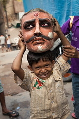 Faces, Kolkata (Marji Lang) Tags: life street travel portrait people india strange smile face smiling fun happy kid amazing funny child play faces mask god head indian streetphotography documentary potter streetportrait streetlife clay idol hindu kolkata indien neighbourhood calcutta inde streetshot bengali westbengal clayart visages travelphotography northernindia ef247028l kumartuli kumortuli travelanddocumentaryphotography pottersquarter marjilang northernkolkata