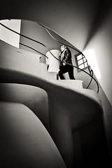Casa Batlló. Bartzelona (Igorza76) Tags: barcelona bw white black building art blanco de casa negro edificio bn paseo staircase gaudí zb nouveau zuri modernismo antoni passeig cataluña gràcia escaleras gracia modernisme batllo batlló bartzelona eixample ensanche beltz etxe eskailerak blackwhitephotos