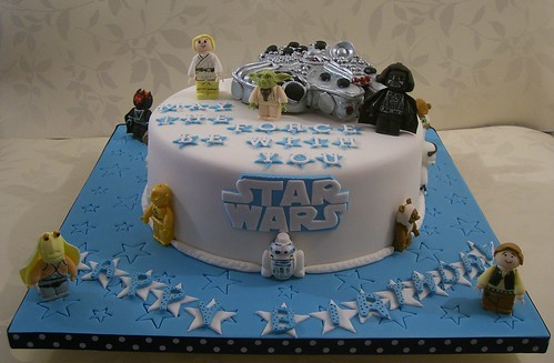 Amazing Star Wars Birthday Cake A Photo On Flickriver Personalised Birthday Cards Paralily Jamesorg