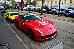 HIgh view of the Ferrari 599 GTO (11MrAxel) Tags: paris speed for nikon ferrari most mclaren need wanted gto lamborghini d300 599 aventador d5100 mp412c