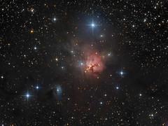 NGC 1579: Trifid of the North (Oleg Bryzgalov) Tags: deepspace astrophoto ngc1579 Astrometrydotnet:status=solved Astrometrydotnet:version=14400 Astrometrydotnet:id=alpha20121092070025 astro:subject=ngc1579 astro:gmt=20121030t0126