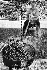 (giuvine eroA) Tags: people blackandwhite bw man cn manipulated bn chestnuts cuneo lupin castagne scarpin lpin pinocchi caldarroste sagradellacastagna volpin nikond300 lethlpinballplayer giuvineeroa puzzett