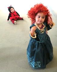 Feeling Brave (jurvetson) Tags: party halloween office costume princess contest ladybug brave
