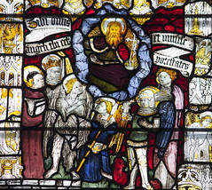 The Vision of the Blessed (Lawrence OP) Tags: york god saints stainedglass minster