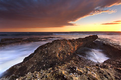 Potter Point Sunset (stevoarnold) Tags: sunset cloud colour sydney nsw cronulla botanybaynationalpark theshire sutherlandshire potterpoint