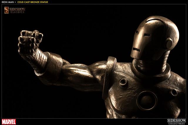 Sideshow - 「鋼鐵人」仿銅經典雕像