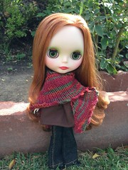 Sweet Shawl for Blythe 2