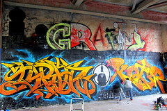 graffiti | teufelsberg . berlin (urbanpresents.net) Tags: street urban berlin art abandoned station germany deutschland graffiti decay radar coldwar 2012 grunewald nsa teufelsberg kersavond