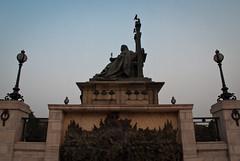 Queen Victoria's Statue. (newdeb2007) Tags: india asia kolkata calcutta southasia westbengal victoriamemorialhall saarc