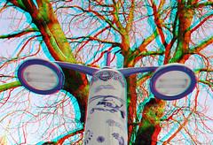 Lamp-Post Delfts Blauw 3D (wim hoppenbrouwers) Tags: 3d blauw anaglyph delft stereo lamppost delftsblauw jingdezhen delfts delftsblue straatlamp deporceleynefles stagathaplein delftsware