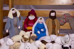 Knitivity or Knitted Nativity at St John The Baptist Church Dodworth (110) (PHH Sykes) Tags: church saint st john baptist knitted figures nativity the dodworth knitivity