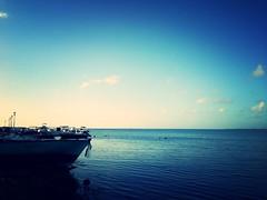 My vision (Aunor) Tags: blue sky cloud marina boat no peaceful any bleu nuage bateau voilier guadeloupe yatch iles lagon nuageux couldy paisible frensh aucun caraibean